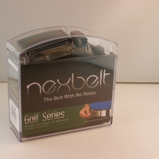Nexbelt Carbon Black Golf Belt $64.99